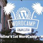 WordCamp Charleston is Next Weekend